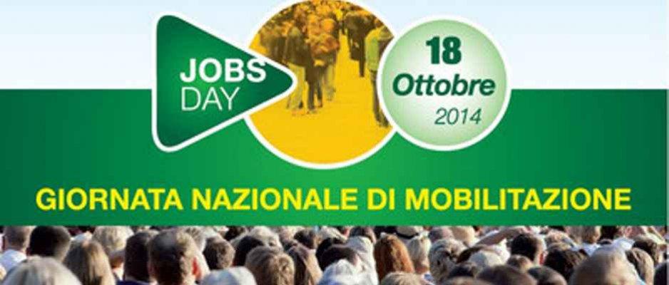 18 ottobre 2014, in 100 piazze il jobs day della Cisl