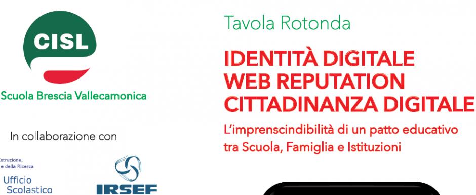 IDENTITÀ DIGITALE, WEB REPUTATION, CITTADINANZA DIGITALE